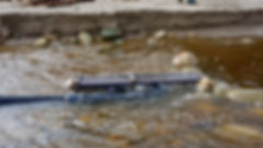 Stormwater Syphon Cu, Montecito Creek