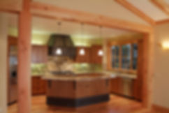 CCS Tahoe kitchen design with granite counter tops