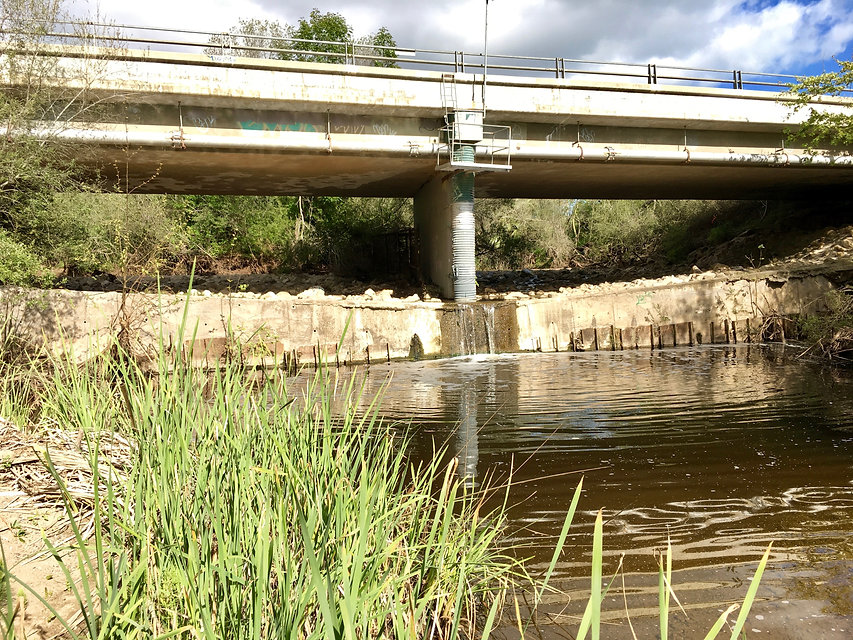 Atascadero Creek  stormwater capture project