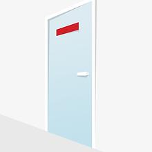 דלת זכוכית, vector