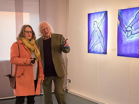 Hommage an den internationalen Glaskünstler Mark Angus