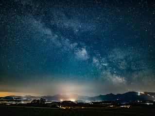 ...und wieder die Milchstraße