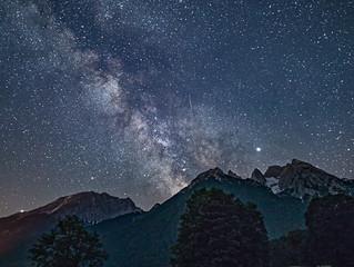 Was für eine Sternennacht!
