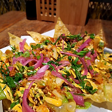 SHINKA PULLED PORK NACHOS