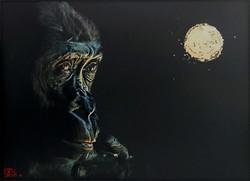Au delà (femelle gorille)