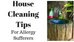 House Cleaning & Allergies – Tips For Allergy Sufferers in Calgary