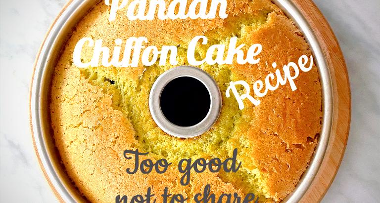 Irresistibly moist and fragrant Pandan Chiffon Cake that anyone can make