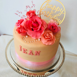 Flower cake for the special one