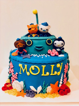 Octonauts cake for lovely Molly!