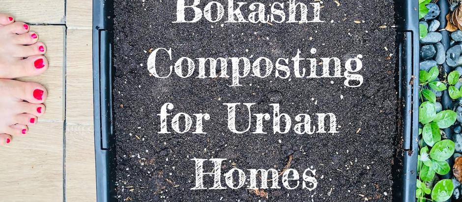 Bokashi Composting - composting method for urban homes