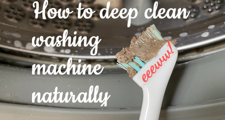 How to clean washing machines naturally in a few simple steps