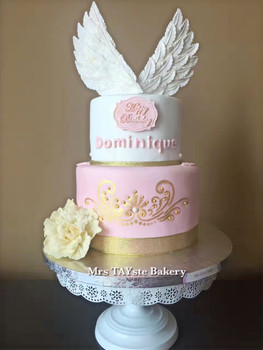 Angel cake for Dominque and her angel Grandmother