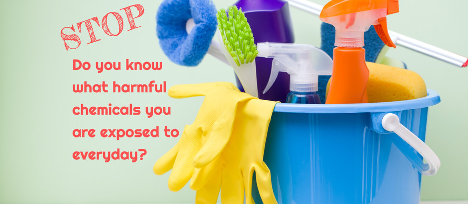 Spring cleaning? See how to avoid harmful chemicals, and use free apps to identify safer products