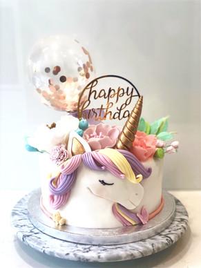 Unicorn cake for my daughter