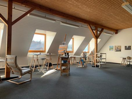 Ateliereröffnung Kunstwolke