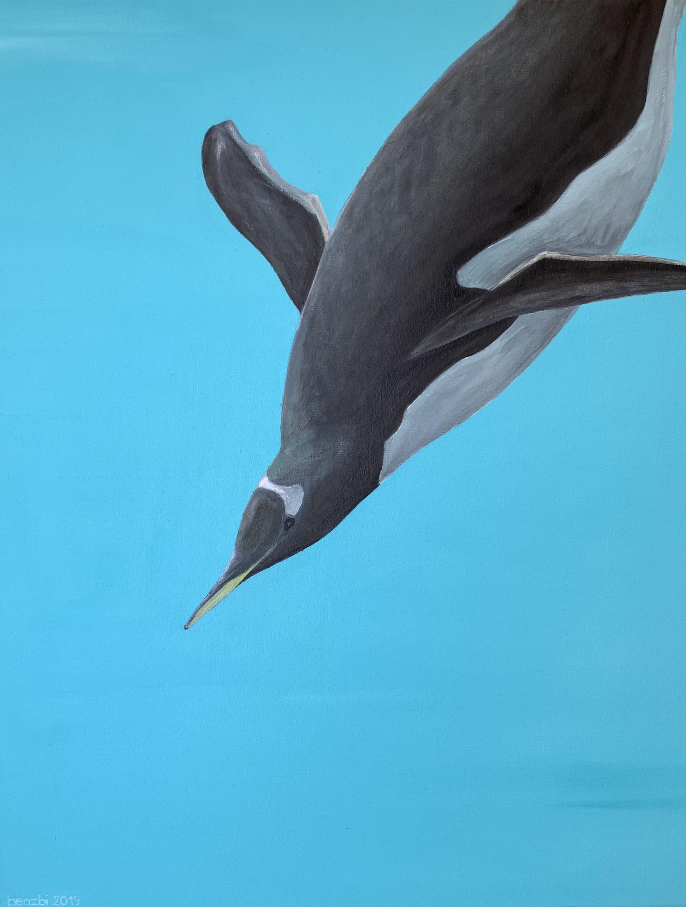 Unterwasser-Pinguin