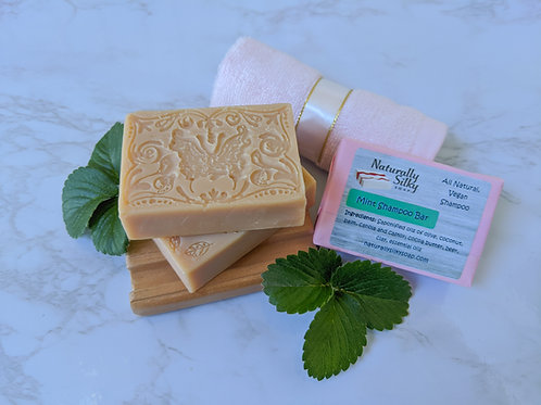 Mint Shampoo Bar (Dry Hair)