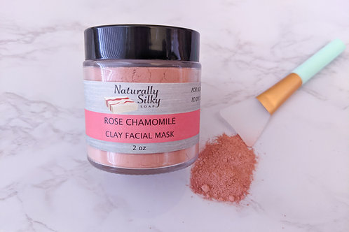 Rose Chamomile Face Mask