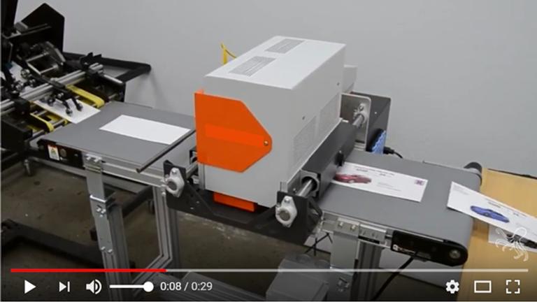 High Speed Packaging Color Inkjet Printer