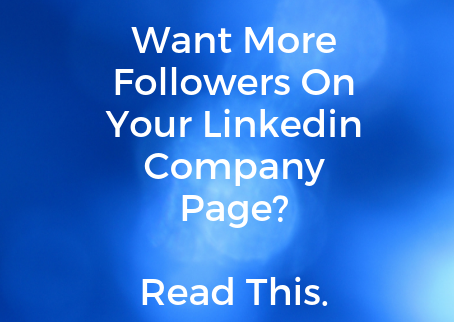 How do I get people to view my LinkedIn company page?