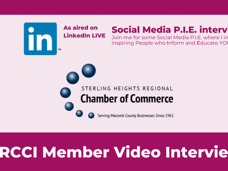 Sterling Heights Chamber Members on LinkedIn Live with Brenda Meller