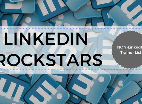 LinkedIn Rockstars by Follower Growth (Non-LinkedIn Trainer List)