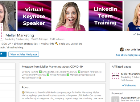 Use This For Your First Linkedin Company Page Post