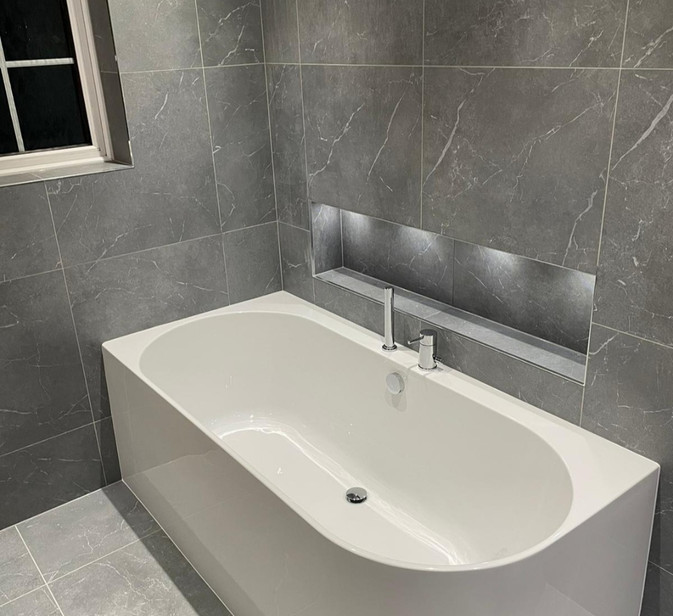 waters space flow bath lighting