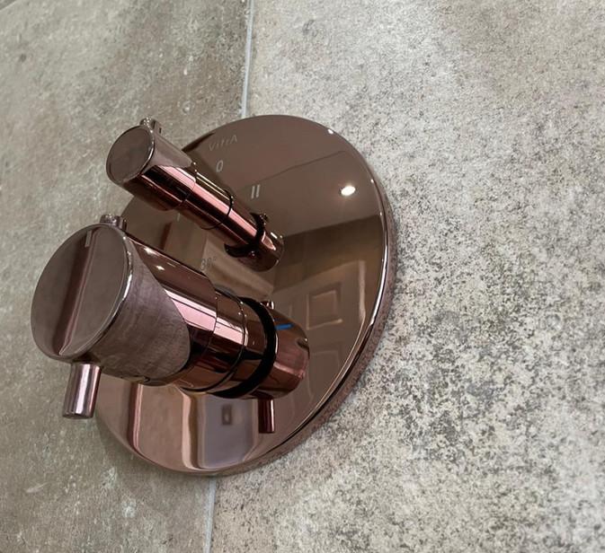 vitra copper shower valve