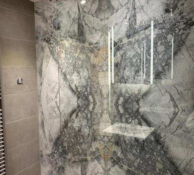 large grey tiles