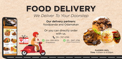 Banner Food Delivery