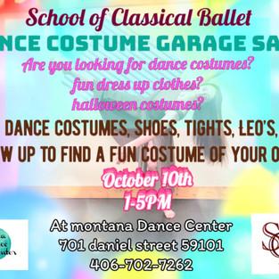 school of classical ballet Dance costume garage sale
