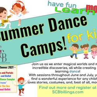 Kids Summer Camps!