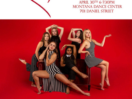 Open Auditions April 30th 6-7:30 PM