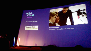 Teacher of the Year nomination, IntoFilm Awards