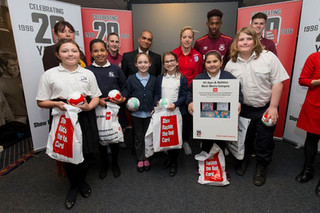 Show Racism the Red Card winners!