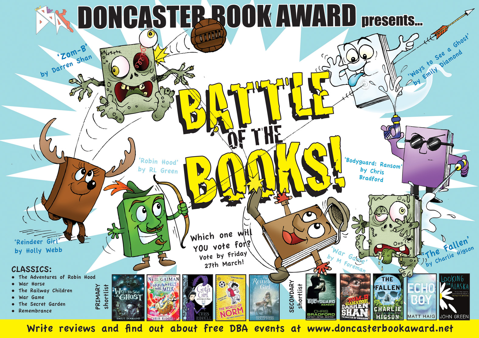 Doncaster Book Awards