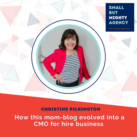 Christine Pilkington: How this mom-blog evolved into a CMO for hire business