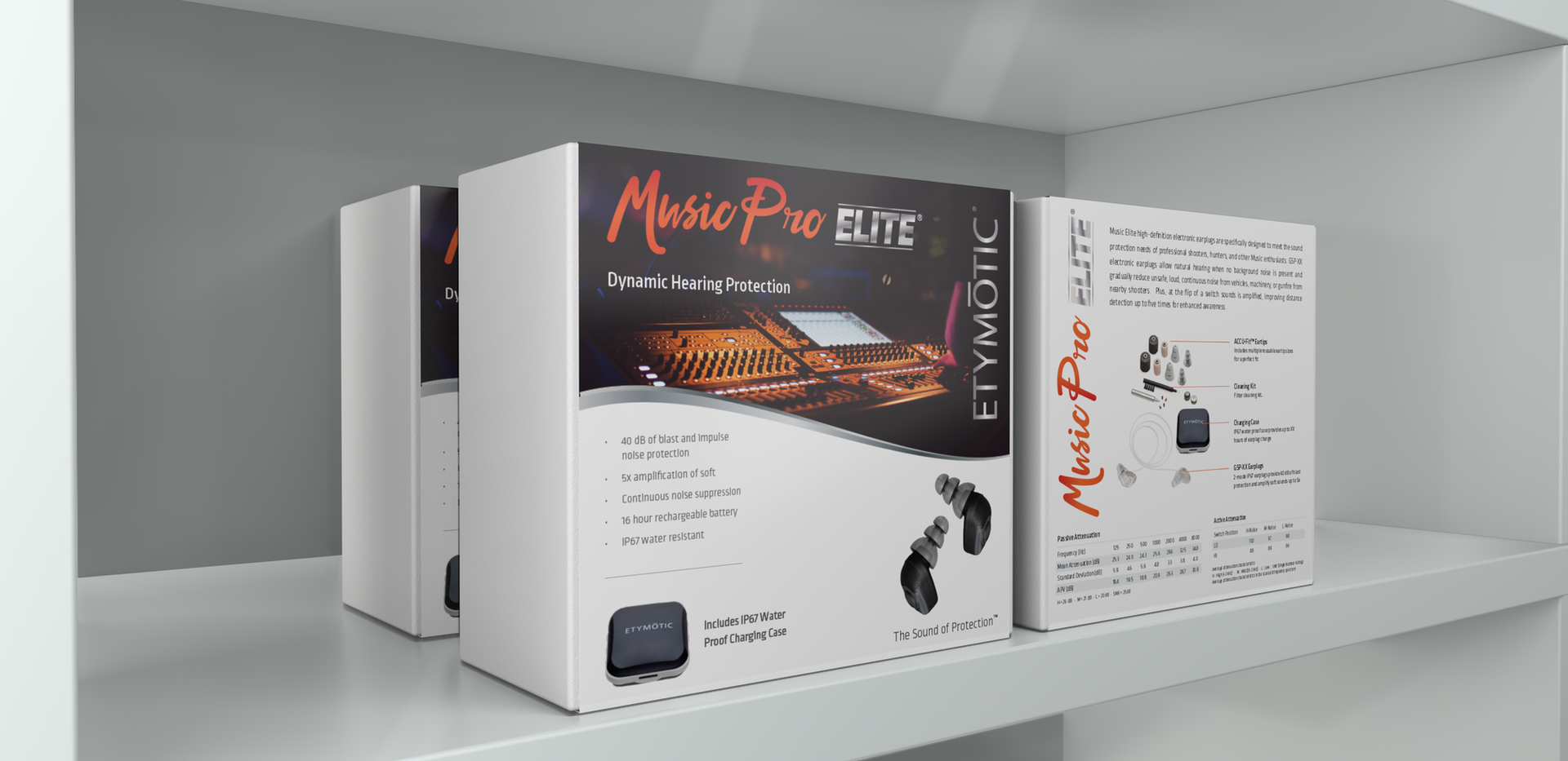 Music Pro Elite Packaging Concept