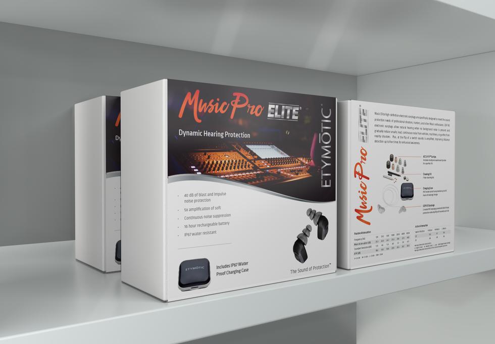 Music Pro Elite Packaging Concept