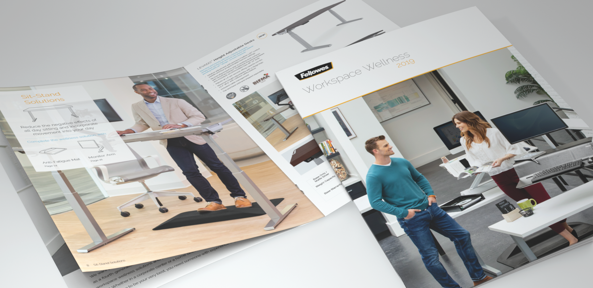 2018 Fellowes® Workspace Wellness Brochure