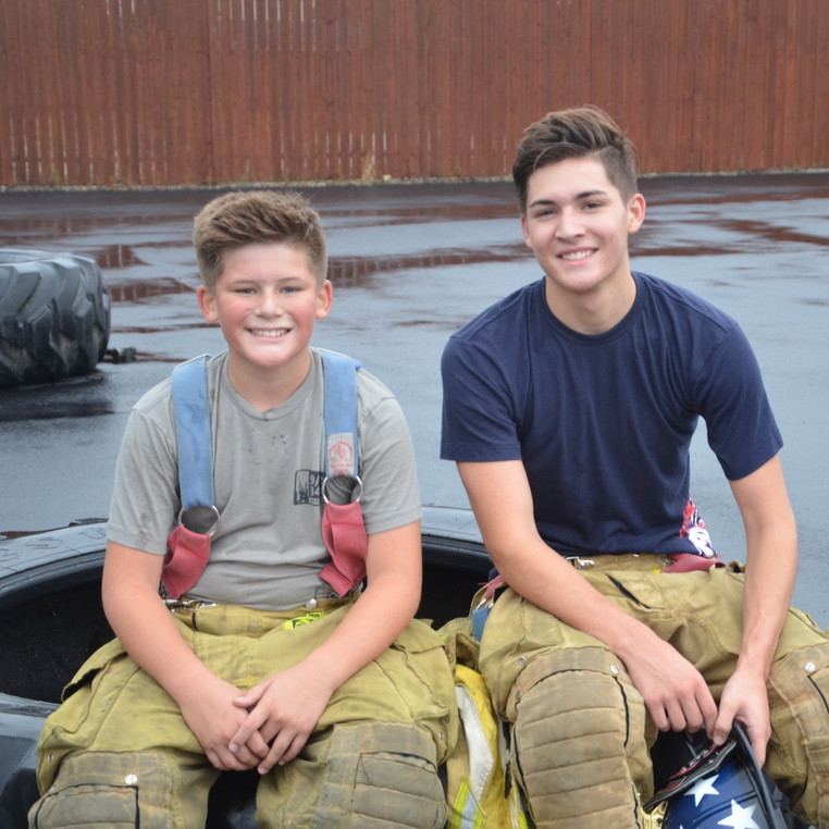 CrossFit Kids Firefighter Challenge