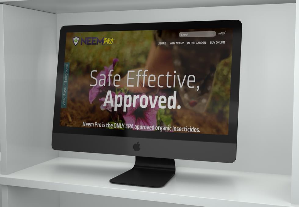 Neem Pro Website Concept
