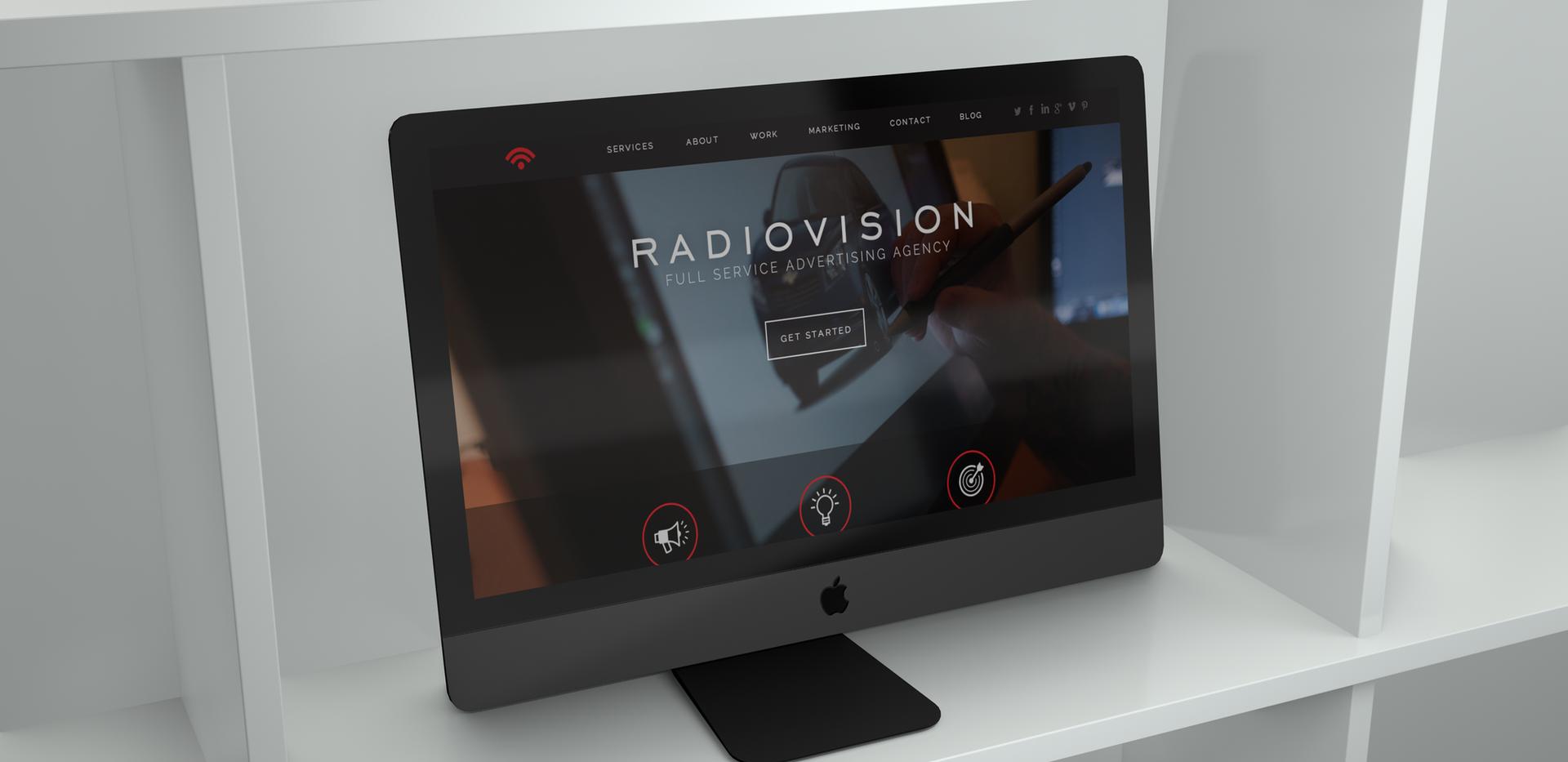 Radiovision Website Concept