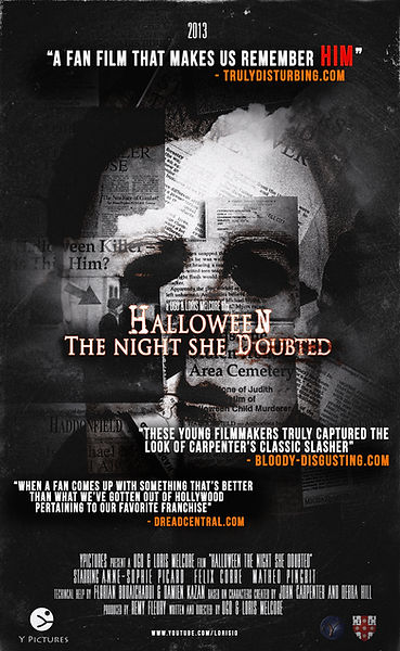 HALLOWEEN THE NIGHT SHE DOUBTED AFFICHE