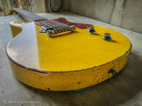 Frank Barrull LP TV Yellow relic