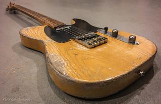 guitar tele blonde relic