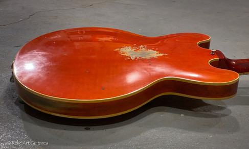 Gibson 335 refin faded cherry relic-8.jp