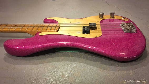 bass purple sparkle relic