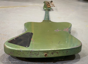 Gibson Thunderbird bass refin inverness green relic